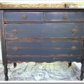 vintage chest painted and toned for an aged affect petticoat junktion