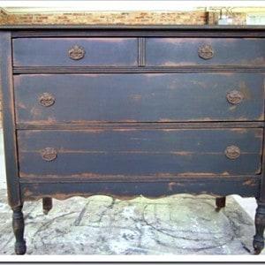 Classic makeover for a vintage dresser