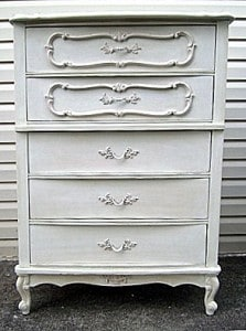Chest of Drawers………Ugly Duckling to Swan