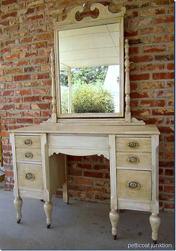 how to antique furniture
