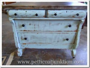 Painted Furniture Show and Tell— Dresser/Buffet makeover