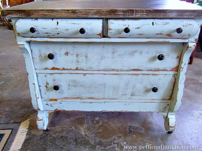 You Can Paint Antique Furniture Distressed Paint