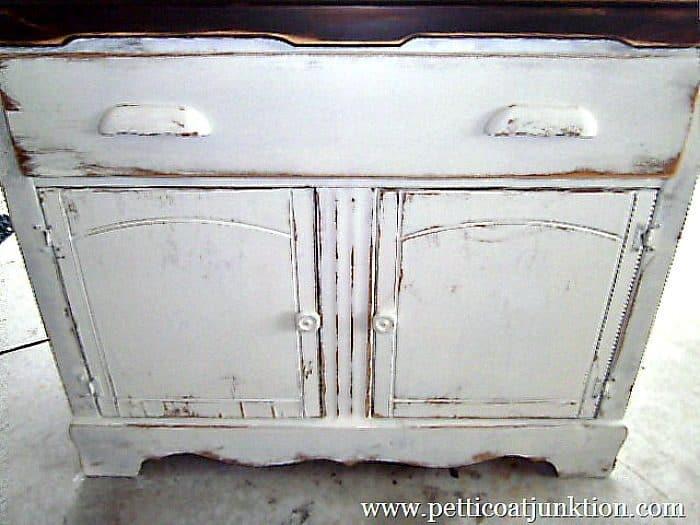 furniture details distressed