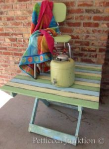 Beachy-Keen Furniture Makeover