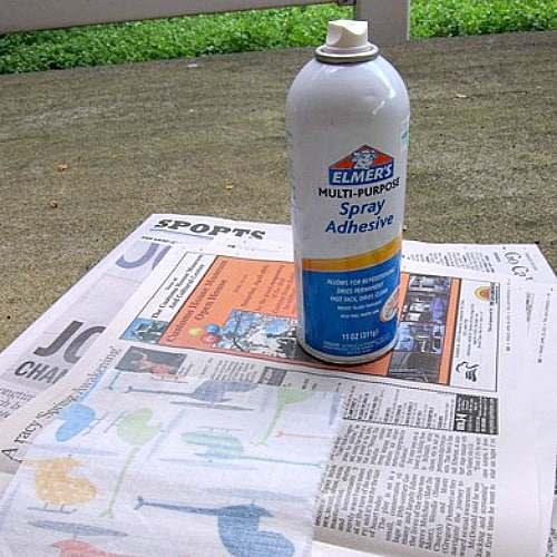 Elmer's spray on adhesive