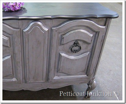 Silver Metallic Furniture Paint Adds Shimmer And Shine