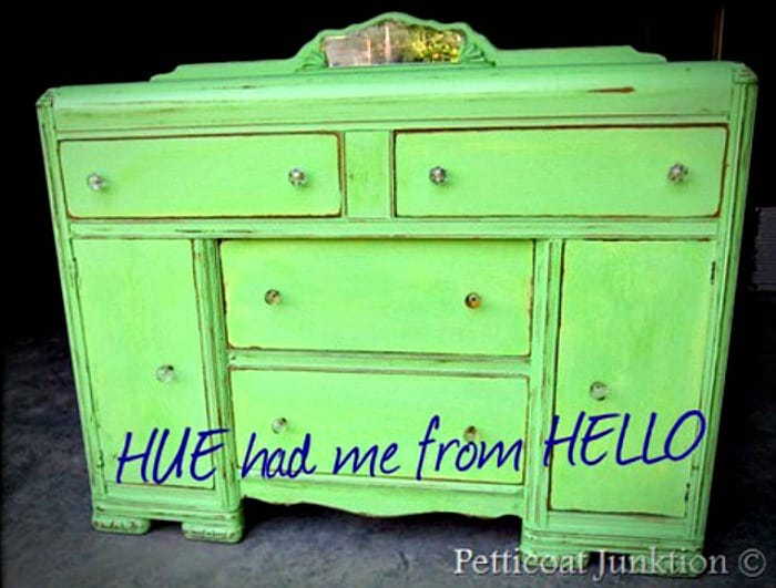 green painted furniture. Green Painted Furniture Makeover With Crystal Knobs Petticoat Junktion N