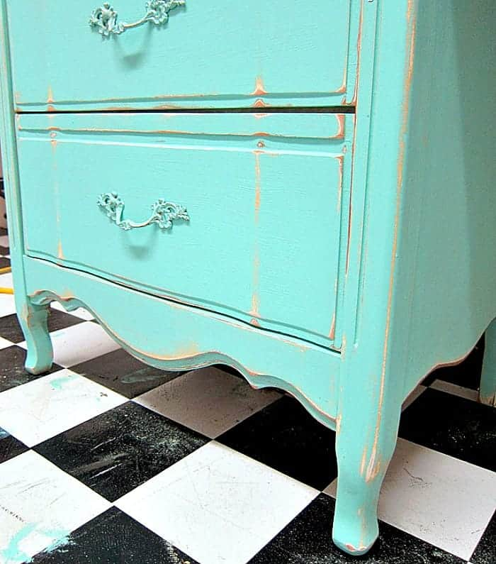 It's okay to paint French Provincial Furniture