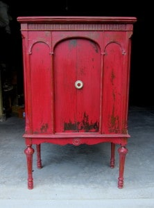 Tricycle Red Cabinet