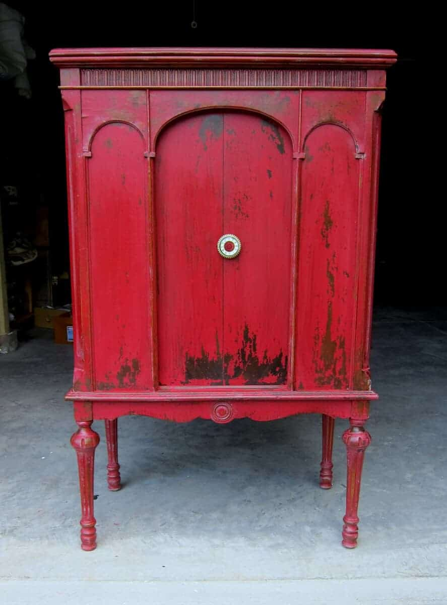 Painted Red Furniture Painted Red Furniture I Nongzico