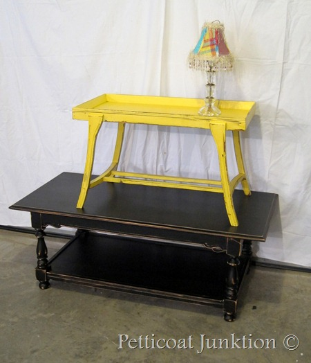 painted coffee tables, Petticoat Junktion