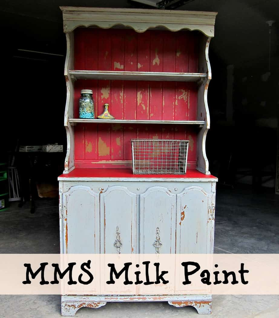 Milk Paint Furniture Makeover