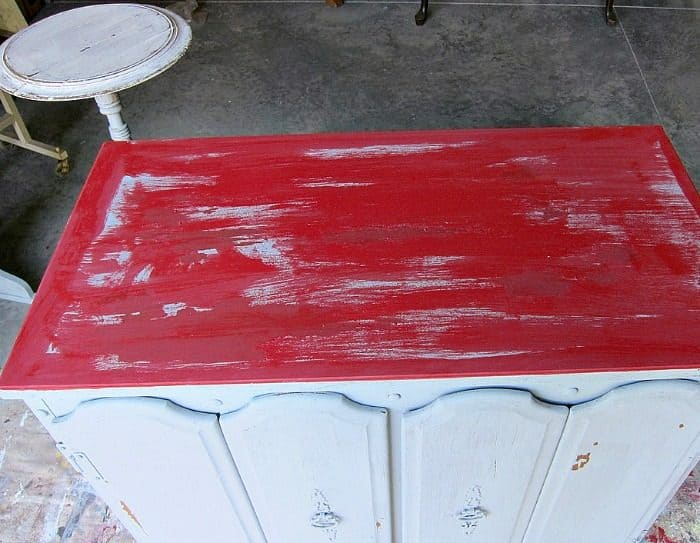 when painting with milk paint goes horribly wrong