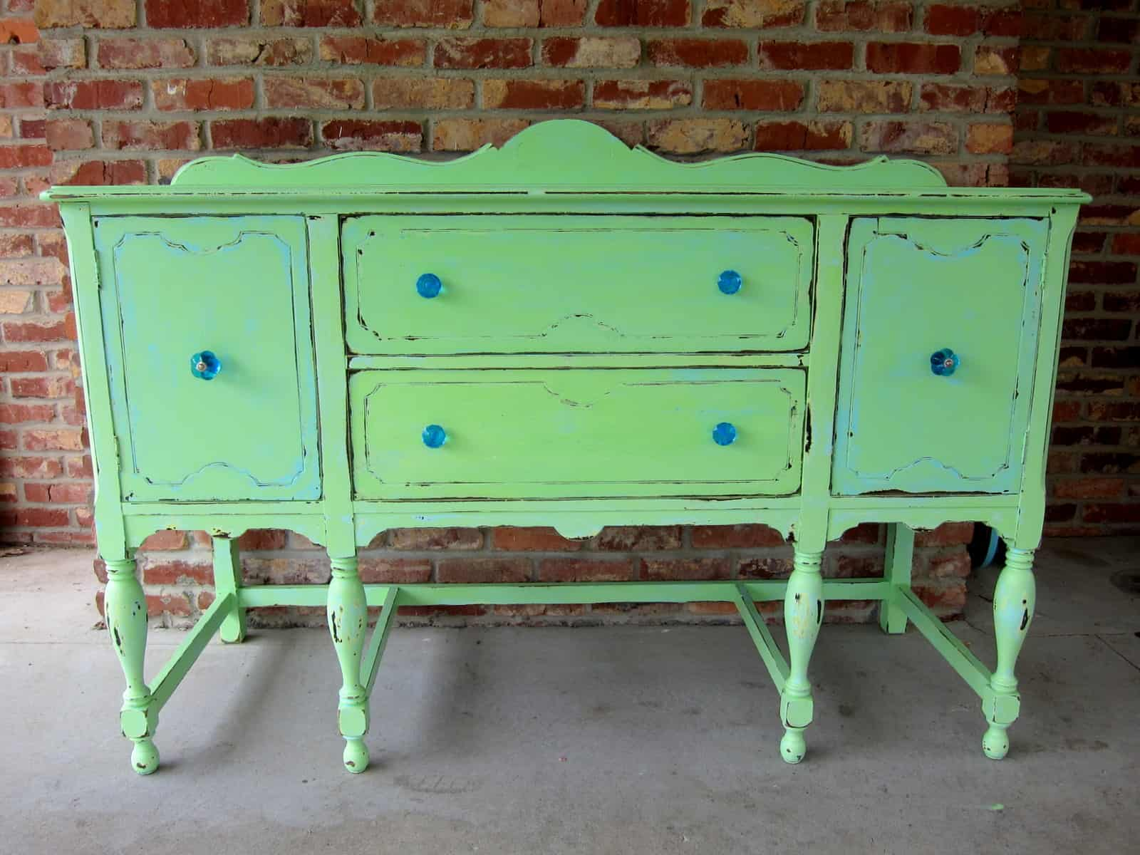 We paint furniture and make junk creations