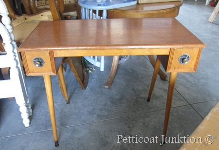 Decoupage project, Petticoat Junktion