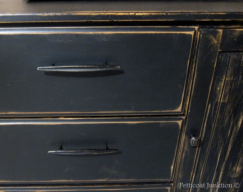 Black Cabinet Ready For A Spin Petticoat Junktion