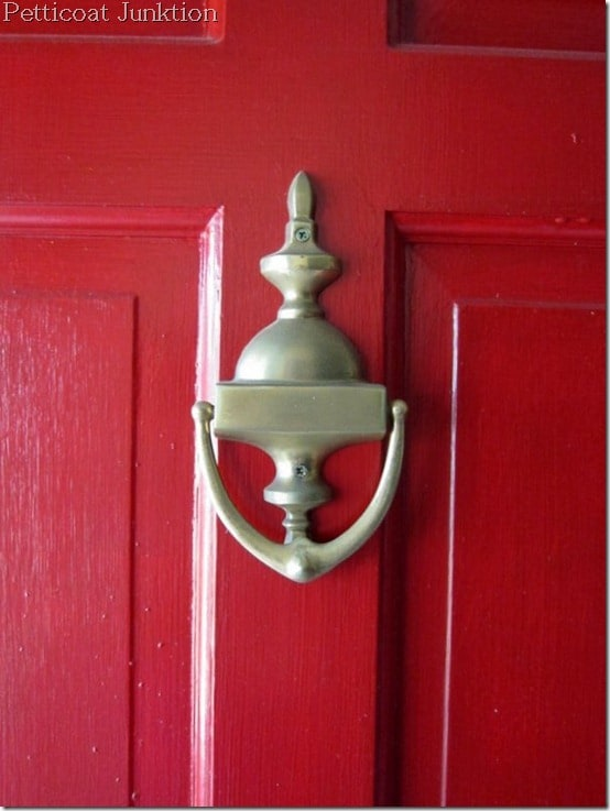 spray painted hardware,Petticoat Junktion