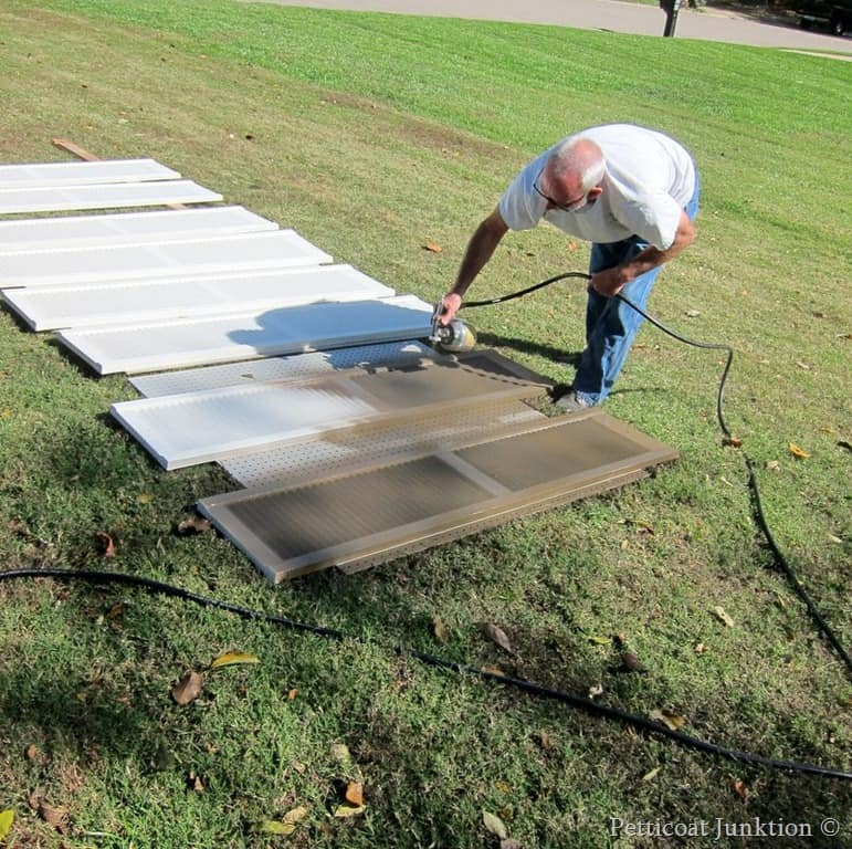How To Paint Vinyl Shutters Using A Paint Sprayer