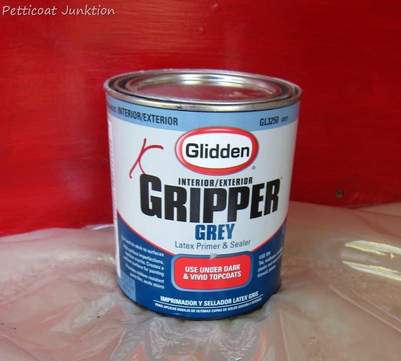 How To Paint Your Front Door Using Glidden Gripper Primer, Petticoat  Junktion