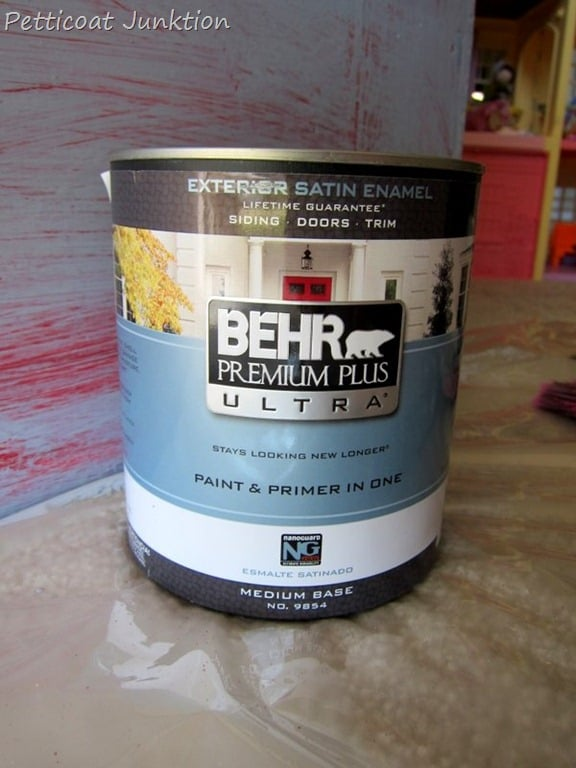 Behr paint for painting exterior doors