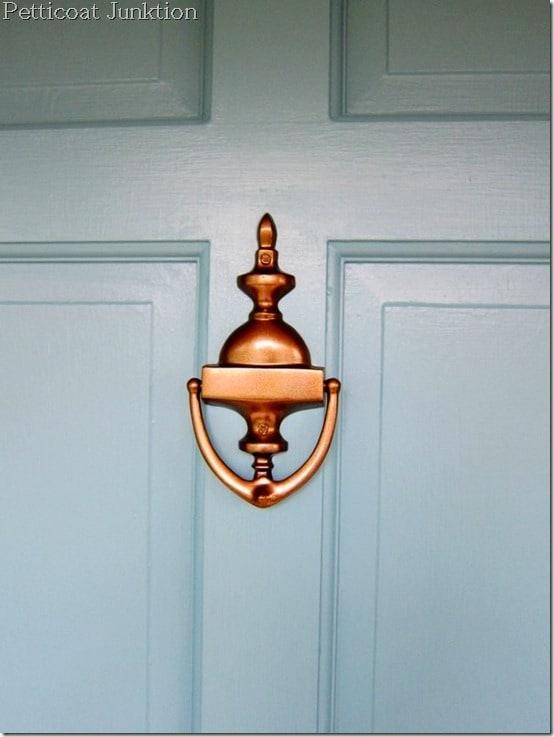 painting door hardware