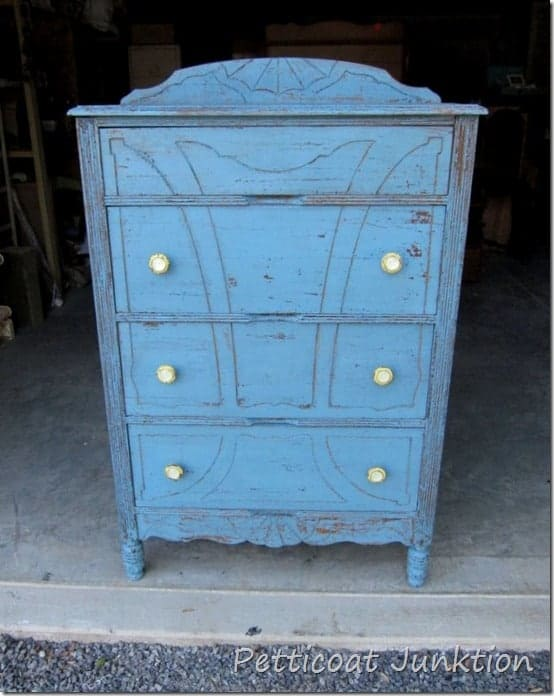 Miss Mustard Seed Milk Paint Painted Chest, Petticoat Junktion