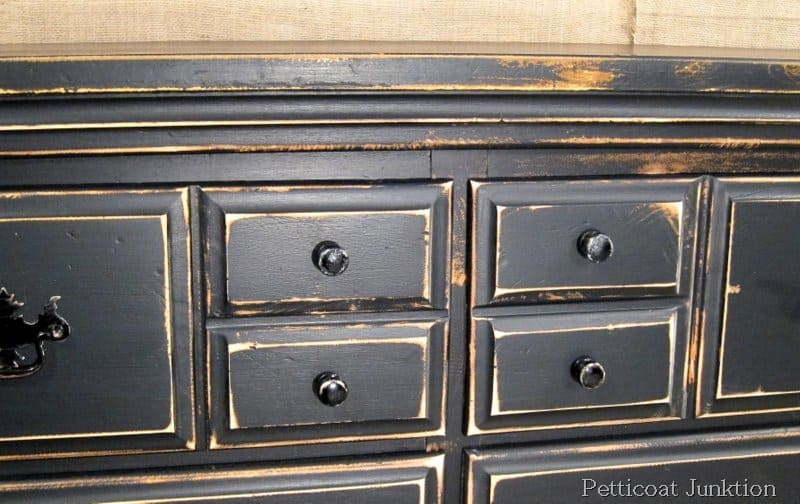 Black Painted Furniture, Petticoat Junktion