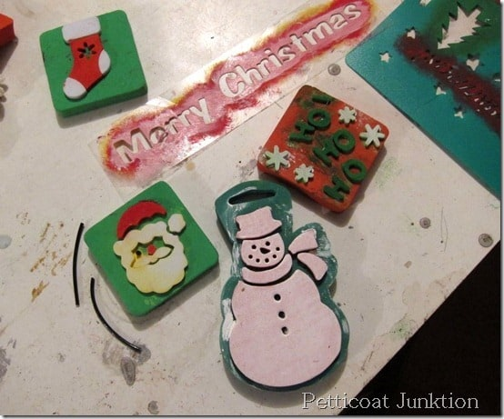 DIY Christmas signs, Petticoat Junktion