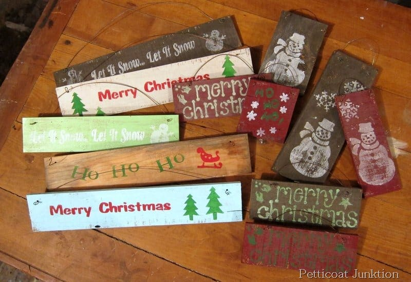 Here's Your Christmas Sign-Petticoat Junktion