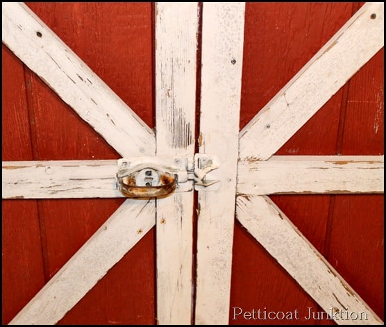 Barn door, junk find, Petticoat Junktion