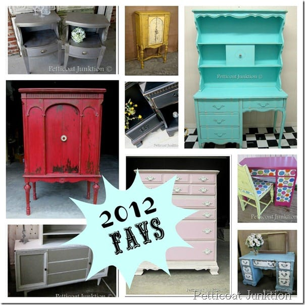 Painted Furniture Projects, Petticoat Junktion