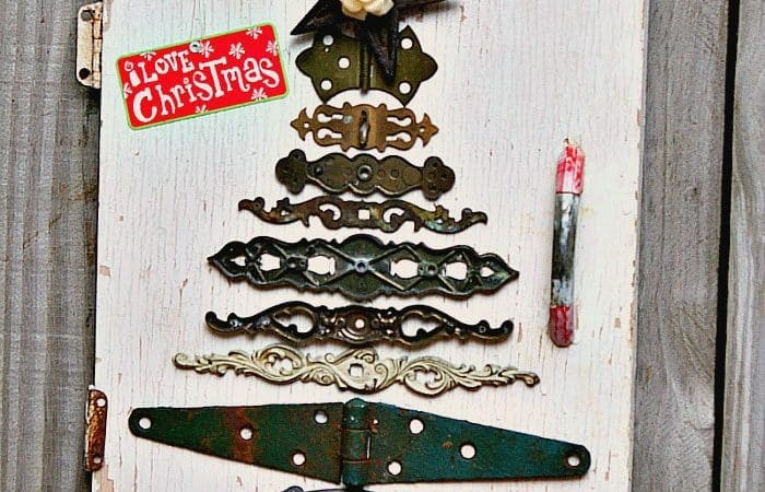 diy Christmas tree idea