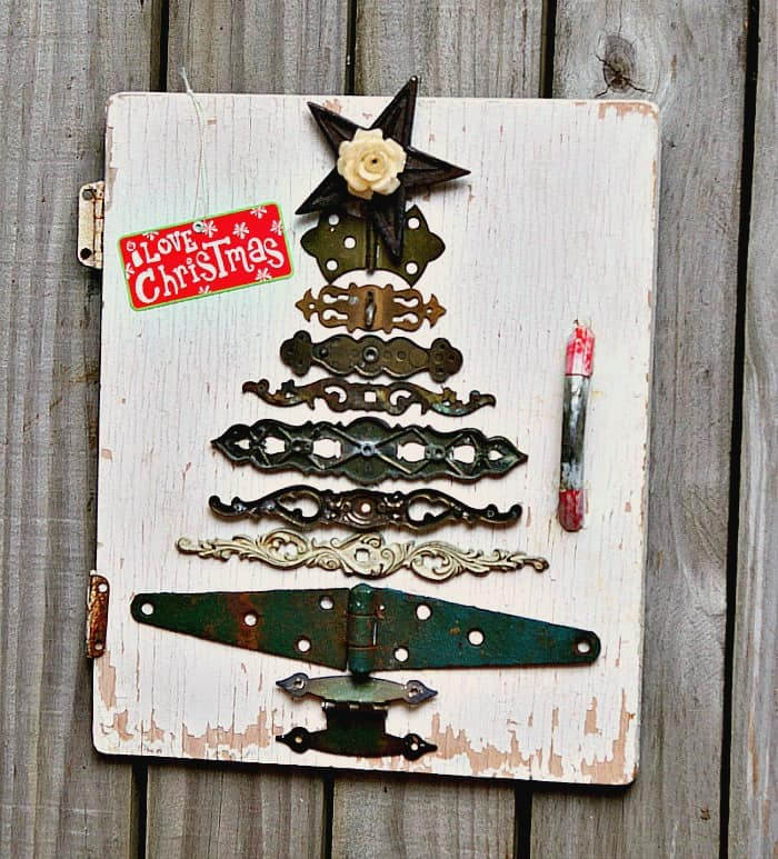 diy Christmas tree idea