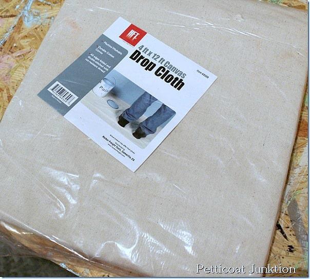 drop-cloth