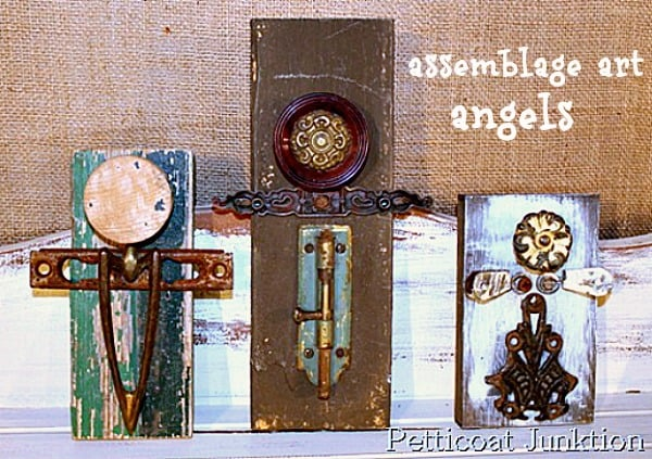 assemblage art angels