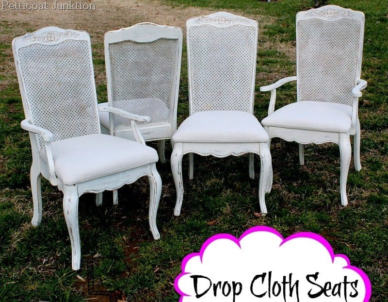 white-painted-chairs-drop-cloth-seats