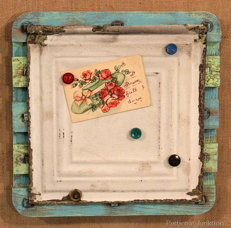magnet-board-project-idea-buttons-reclaimed-tin-wood