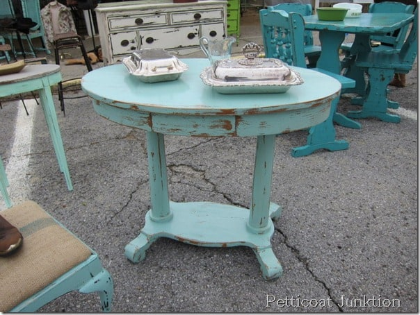 Painted Furniture Ideas Nashville Flea Market