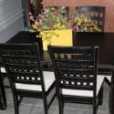 painted-distressed-table-chairs-drop-cloth-seats-diy