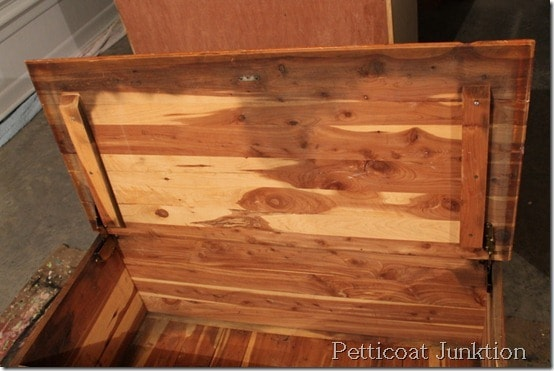 cedar chest-diy-project