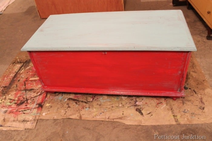 vaseline distressed paint project
