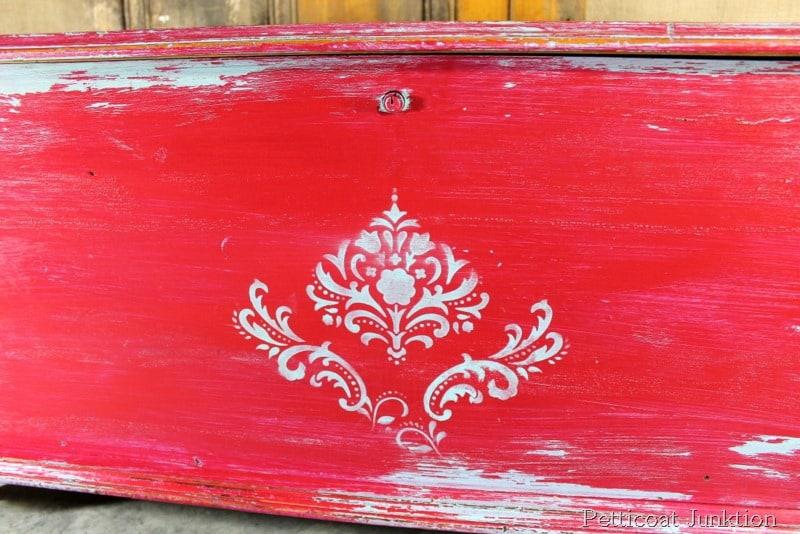 Vaseline Distressed Furniture. I Used The Same Turquoise Paint ...