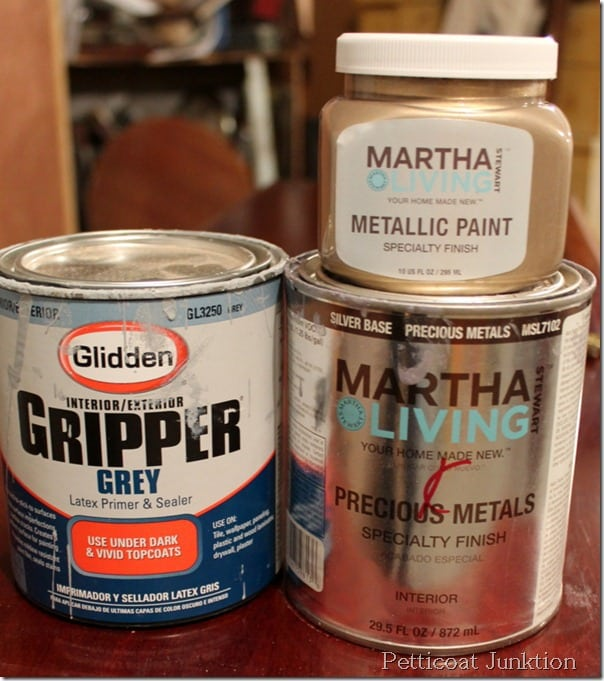 martha stewart-metallic-paint-tutorial-diy