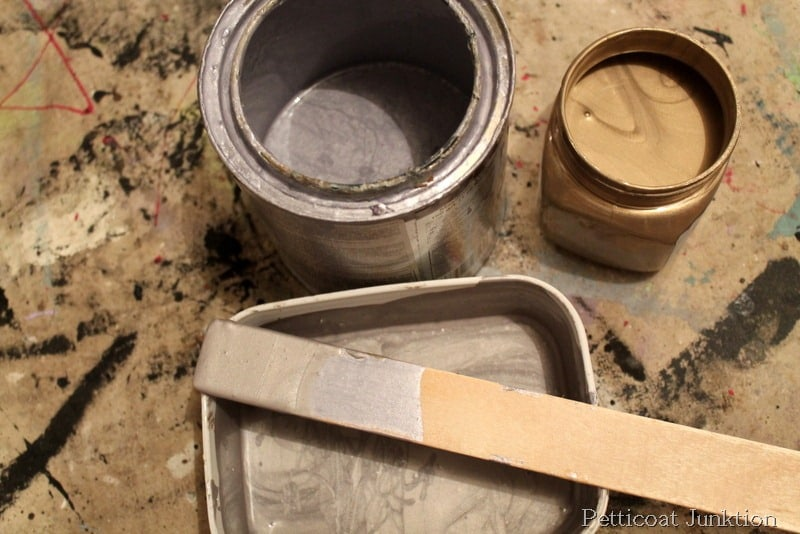 Beautiful Martha Stewart Metallic Paint Tutorial Diy