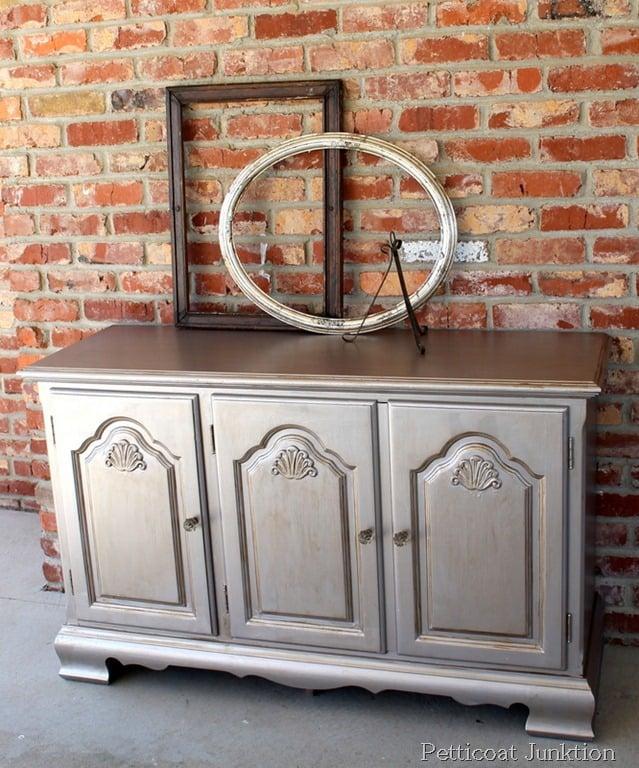 diy metallic furniture. martha stewartmetallicpainttutorialdiy diy metallic furniture n
