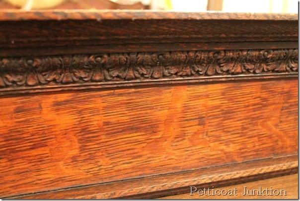 hemp oil rubbed wood finish