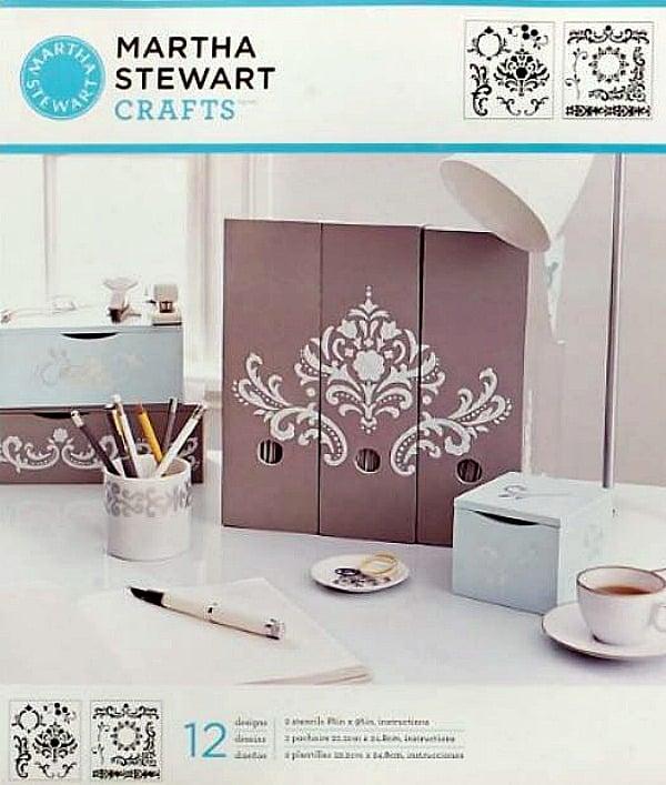 Martha Stewart Stencil Flourish