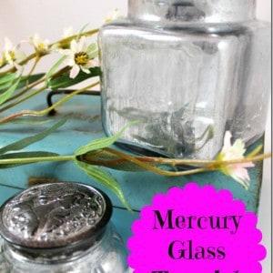 Salvage Saturday, Mercury Glass Diy, Take 2