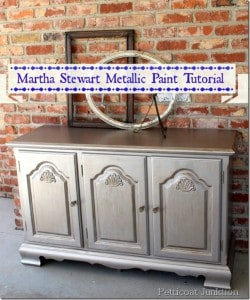 martha stewart-metallic-paint-tutorial-petticoat junktion