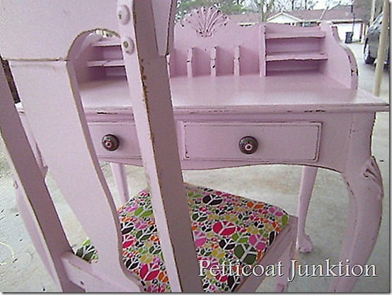 pink-desk-peace-sign-fabric-seat-petticoat junktion